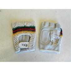 Retro race/mtb handschoenen (regenboogkleuren)